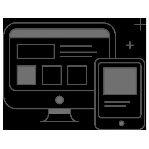 Website Design by fraher media icon